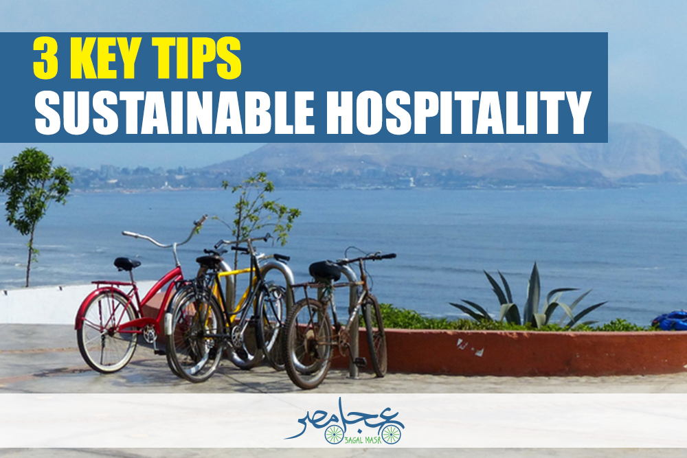 Sustainable Hospitality: 3 key tips to reduce pollution in Egypt in 2019